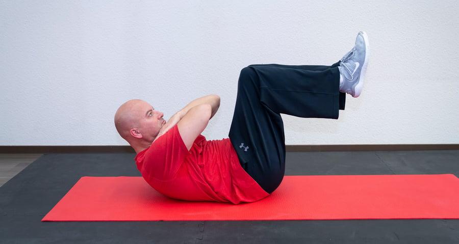 10 Minuten für Ihren Rücken (1) -double crunch