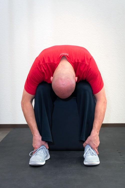 Rückendehnung akute Rückenschmerzen