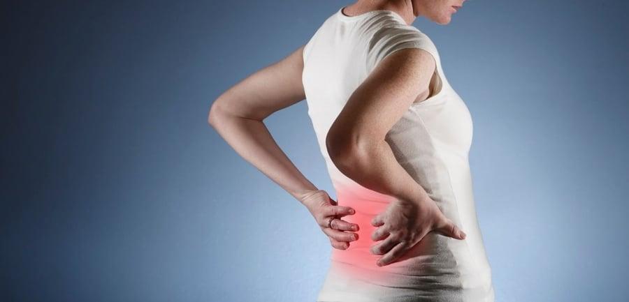akute punktuelle rückenschmerzen