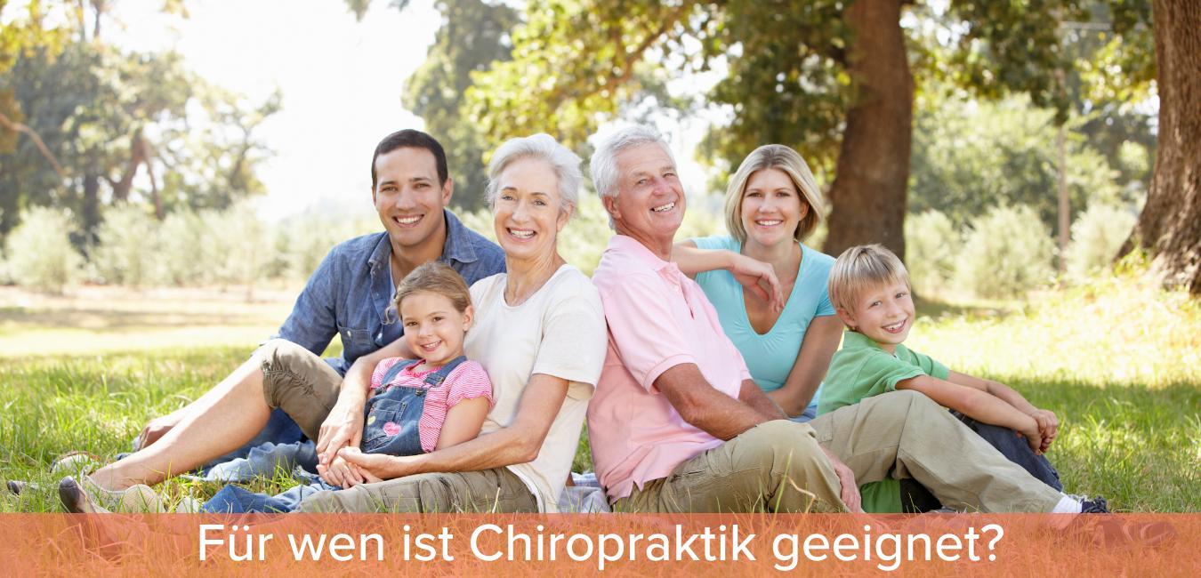 für wen ist chiropraktik geeignet